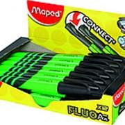 Текстовыделитель Maped FLUO PEP`S, 1-5мм, зеленый, крепление на колпачке фото