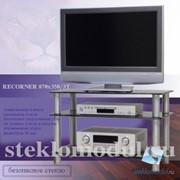 Тумба стойка для телевизора и аппаратуры, Стекло Модуль C-14 фото
