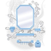 Набор для ванной комнаты Октавия- премиум (снежн-бел)430*583 фото