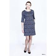 Платье Афалина, сине-бирюзовый фото