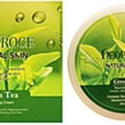 Питательный крем для лица и тела с экстрактом зеленого чая DEOPROCE NATURAL SKIN GREENTEA NOURISHING 100гр фото
