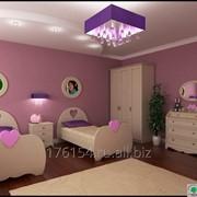 Спальня для девочек во французском стиле, массив ясеня фото