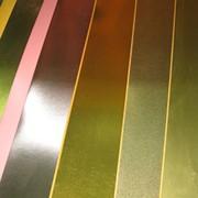 Металлизированная пленка ПЭТ (золото Шампань) фото