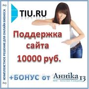 Аутсорсинговая поддержка сайта Tiu.ru, до 50 часов в месяц фото