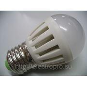 Лампа светодиодная шарик 3,5w eco E27 4000K 250lm (белый) фото
