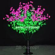Светодиодное дерево. Сирени фото