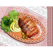 Запечений судачок в беконi — Судак запеченый в беконе фото