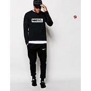 Спортивный костюм мужской Nike F.C. черный фото