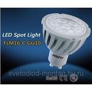 Светодиодная лампа GU10 6W фото