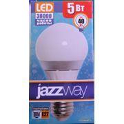 Светодиодная лампа Е27 5w A60 фото