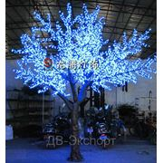 Светодиодное дерево. Вишня. фото