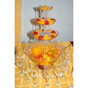 Фонтан для напитков в Новосибирске на свадьбу фото