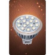 Светодиодная лампа MR16 GU5.3 4W АС/DC 12V фото