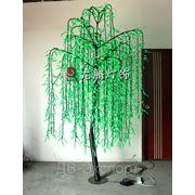 Светодиодное дерево. Ива. фото