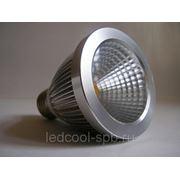Светодиодная лампа LC- E27 7W WWhite 20005924 KCPAR20-7WCOB фото