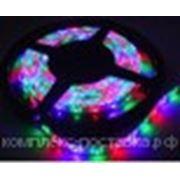Светодиодная лента 3-х цветная лента 5 м RGB