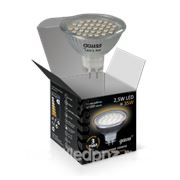 Лампа Gauss LED MR16 2,5W GU5.3 AC220-240V 2700K фото