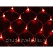 Светодиодная Сеть (LED-SNL-S-120-240V) 1,83х1,22м, красная фото