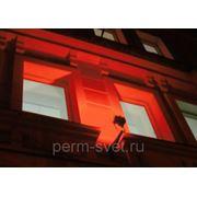 Красный светодиодный прожектор с линзами Solaris LL-45p(R)(Y) 45Вт 3300Лм фото