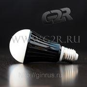 Светодиодная лампа E27, 10W, диммируемая фото