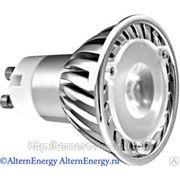 Светодиодная энергосберегающая лампа GU10C-1-3W фото