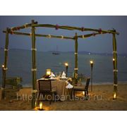 Романтический ужин на острове фото