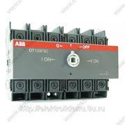 Реверсивный рубильник OT63F3C фото