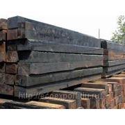 Шпала деревянная пропитанная I тип, размер 160х230х2750мм. фото