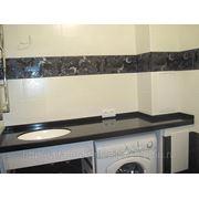 Столешницы в ванную комнату (искусственный камень) фото
