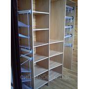 Шкафы для гардеробной комнаты №6 фото