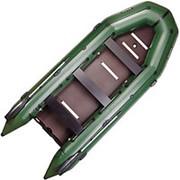 Надувная лодка Bark BT450S Bark килевая с жестким днищем, восьмиместная фото