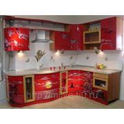 Кухня с радиусами фото