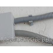 Крепеж-клипса для трубы гофрированной d25 мм фото