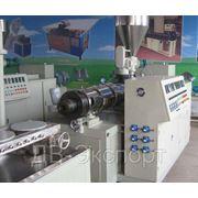 Оборудование для производства гофротрубы из РЕ и PVC. Модель FSJ 50-12-63 фото