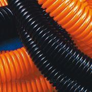 DKC 71916 Труба гофрированная д.16мм, лёгкая с протяжкой, 100м, цвет оранжевый