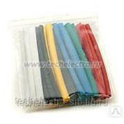 Набор цветных термоусаживаемых трубок с коэффициентом усадки 2:1 фото