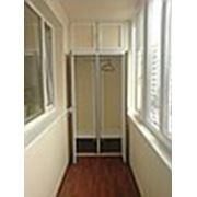 Шкафы для балконов и лоджий фото