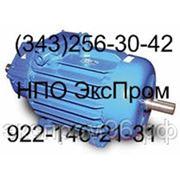 Крановый электродвигатель МТФ 012-6у1 2,2кВт 900 об/мин фото