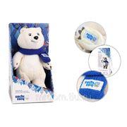 Белый мишка gt5621 20см в коробке тм sochi 2014.ru (830360) фото