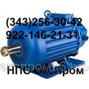 Электродвигатель крановый DMTKF 111-6 (h-132) IM1001 кг, Вес 83кг, 3,5кВт при ПВ 40%, 900об/мин фото
