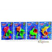 Toy Story лицензия Мыльные пузыри + насадка в виде рыб, 4 в., 12/96 [7286059] фото