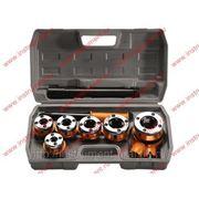 Набор клуппов 1 4-3 8-1 2-3 4-1-1, 25 + плашкодержатель с трещоткой, 9 предм. 773355 фото