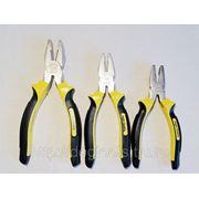 Пассатижи Hight Quality Professional Tools 200мм черн.-желт.руч. фото