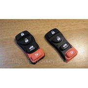 Кнопки для ремоута NISSAN, 4 кнопки фото
