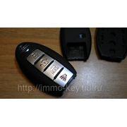Корпус для Смарт-ключа NISSAN, 4 кнопки фото