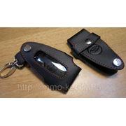 Кожаный чехольчик для Смарт-ключа FORD фото