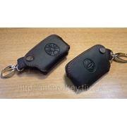 Кожаный чехольчик для Смарт-ключа TOYOTA COROLLA фото
