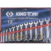 Набор ключей рожковых 6-32мм KING TONY , 1112mr фото