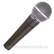SHURE SM58-LCE вокальный суперкардиоидный динамический микрофон фотография