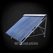 Горячее водоснабжение с помощью солнечных коллекторов